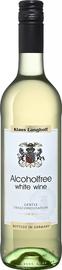 Вино белое сладкое «Klaus Langhoff Alcoholfree Burgherrn Weinhandels»