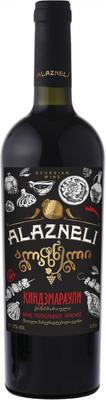 Вино красное полусладкое «Alazneli Kindzmarauli»