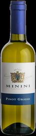 Вино белое сухое «Minini Pinot Grigio» 2012 г.