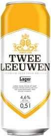 Пиво «Twee Leeuwen Lager» в жестяной банке
