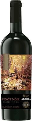 Вино красное полусладкое «Пино Нуар Крымский»