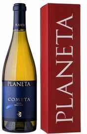 Вино белое сухое «Planeta Cometa» в подарочной упаковке