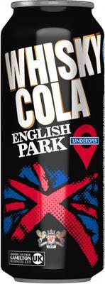 Напиток слабоалкогольный газированный «English Park Whisky Cola» в жестяной банке