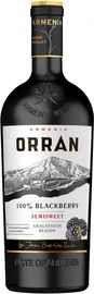Вино столовое фруктовое ежевичное полусладкое «Orran Blackberry Semisweet»