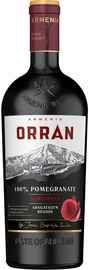 Вино столовое фруктовое гранатовое полусладкое «Orran Pomegranate Semisweet»