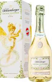 Вино игристое белое брют «Schlumberger Gruner Veltliner Brut Klassik» в подарочной упаковке