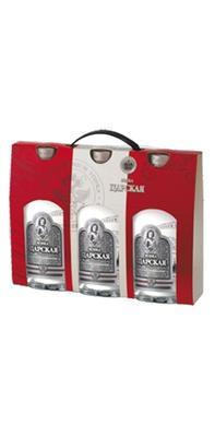 Набор из 3 бутылок водки «Царская Оригинальная»