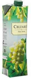 Вино белое сухое «Cruzares Blanco (Tetra Pak)»