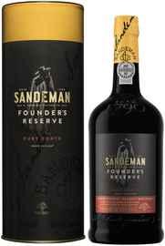 Портвейн «Sandeman Porto Founders Reserve» в тубе
