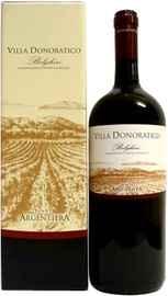 Вино красное сухое «Villa Donoratico DOC» в подарочной упаковке