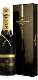 Шампанское белое брют «Moet & Chandon Grand Vintage»  в подарочной упаковке