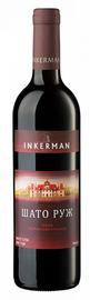 Вино красное полусухое «Шато Руж»