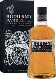 Виски шотландский «Highland Park Viking Honour 12 Years Old» в подарочной упаковке