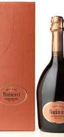 Шампанское розовое брют «Ruinart Rose» выдержанное, в подарочной упаковке