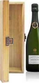Шампанское белое брют «Bollinger Grande Annee» 2000 г., деревянная подарочная упаковка