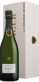 Шампанское белое брют «Bollinger Grande Annee» 2004 г., подарочная упаковка