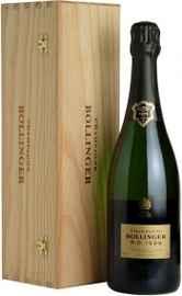Шампанское белое экстра брют «Bollinger R.D.» 1999 г. в деревянной коробке