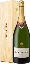 Шампанское белое брют «Bollinger Special Cuvee» в деревянной упаковке