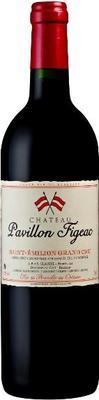 Вино красное сухое «Chateau Pavillon Figeac» 2003 г.