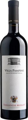 Вино красное полусухое «Villa Pampini Sangiovese Merlot» 2012 г.
