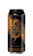 Напиток слабоалкогольный газированный «Black Mamba Коньяк-Миндаль»