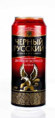 Напиток слабоалкогольный тонизирующий газированный «Black Russian with double espresso flavour»