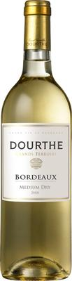 Вино белое полусухое «Dourthe Grands Terroirs Bordeaux Blanc Medium Dry» 2012 г.