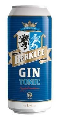 Напиток слабоалкогольный газированный «Коктель Беркли. Джин-Тоник»