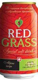 Напиток безалкогольный сильногазированный «Red Grass, 0.33 л»