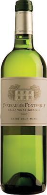 Вино белое сухое «Chateau de Fontenille Blanc» 2012 г.