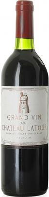 Вино красное сухое «Chateau Latour Pauillac 1-er Grand Cru Classe» 1997 г.
