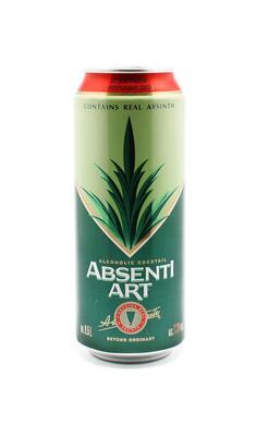 Напиток слабоалкогольный газированный «Absentiart»