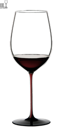 Фужер «Bordeaux Grand Cru 4100/00 R» с красной ножкой и черным основанием