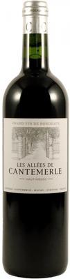 Вино красное сухое «Les Allees De Cantemerle» 2006 г.