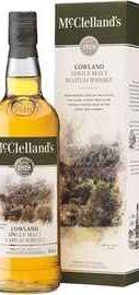 Виски шотландский «McClelland's Lowland, 0.7 л» в подарочной упаковке