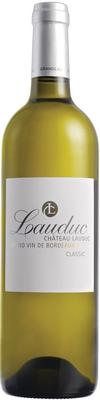 Вино белое сухое «Chateau Lauduc Classic Blanc» 2012 г.