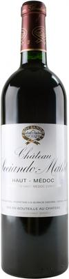 Вино красное сухое «Chateau Sociando-Mallet» 2004 г.