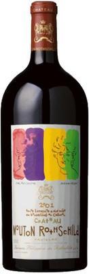 Вино красное сухое «Chateau Mouton Rothschild, 5 л» 2001 г.