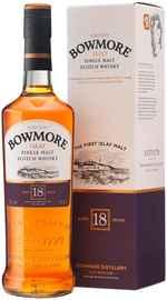 Виски шотландский «Bowmore 18 years» в подарочной упаковке