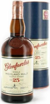 Виски шотландский «Glenfarclas 25 years» в тубе