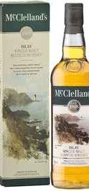 Виски шотландский «McClelland's Islay, 0.7 л» в подарочной упаковке
