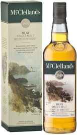 Виски шотландский «McClelland's Islay» в подарочной упаковке