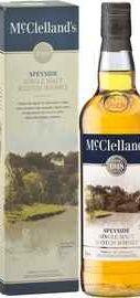 Виски «McClelland's Speyside» в подарочной коробке