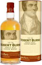 Виски шотландский «Robert Burns Single Malt» в тубе
