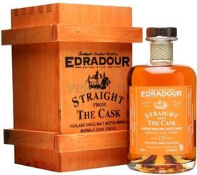 Виски «Edradour Straight from The Cask Marsala cask finish 11 years 2002 » в подарочной коробке