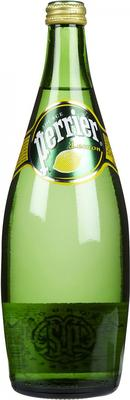 Напиток безалкогольный сильногазированный ароматизированный «Perrier Lemon» на основе минеральной питьевой природной столовой воды