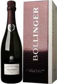 Шампанское розовое брют «Bollinger La Grande Annee Rose Brut» 2004 г. в подарочной коробке
