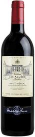 Вино красное сухое «Les Allees Chateau Senilhac» 2011 г.