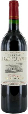 Вино красное сухое «Chateau La Raze Beauvallet» 2011 г.