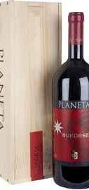 Вино красное сухое «Planeta Burdese» 2008 г. в деревянной коробке